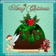 Jewels Art Creation is my original artwork both funny and inspirational. Christmas And New Year, Christmas Bulbs, Christmas Ideas, Figgy Pudding, Tinkerbell And Friends, Christmas Pudding, Good Cheer, Original Artwork, Animation