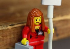 Lego Figures' Hands Are the Perfect Size to Hold Your Cords