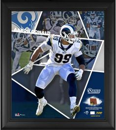 c5e3b8bf84d Aaron Donald Los Angeles Rams Framed 15