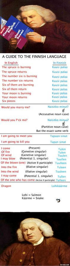 Finnish language difficulties for foreigners. Finnish Language, Number Six, Best Funny Pictures, Finland, Haha, Memes, Countries, Funny Stuff, Journey