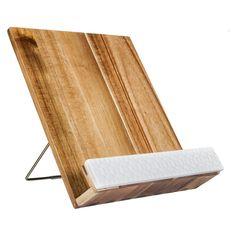 Acacia Wood Cookbook Holder - Threshold