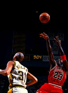 jordan over reggie miller. Black Bedroom Furniture Sets. Home Design Ideas