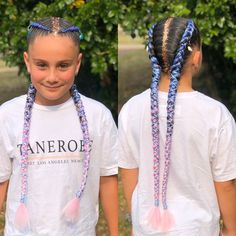 """𝔅𝔯𝔞𝔦𝔡𝔢𝔡 𝔅𝔞𝔟𝔢𝔰 on Instagram: """"I love seeing the finished result of my beautiful clients creations. This gorgeous girl chose pastel extensions with hair jewellery, blue…"""" Kid Models, Gorgeous Girl, Beautiful, Hair Jewellery, Extensions, Braids, Pastel, My Love, Hair Styles"""