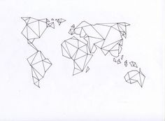 Love this geometric map design!