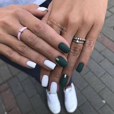 120 trending early spring nails art designs and colors 2019 page 06 - Alexandra . - 120 trending early spring nails art designs and colors 2019 page 06 – Alexandra Aceves – - Nagellack Design, Nagellack Trends, Spring Nail Art, Spring Nails, Winter Nails, Summer Nails, My Nails, White Shellac Nails, Colorful Nails