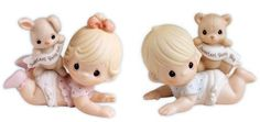 precious moments baby cake topper | Precious Moments Baby figurines