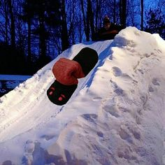 Sledding or sliding? Whatever you call it, it's best at night! #letitsnow #mainewarmers #microwaveheatingpads #madeinmaine #woollybear #woollybearneckwarmer #handwarmer #bodywarmer #sledding #sliding