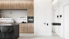 Apartamentul Minimalist - Nazza Interior Design  Check out this beautiful apartment created by Huge Studio  on nazzainteriordesign.com  #apartmentdesign #livingroom #kitchen #minimalistdesign #interiordesign #passionforinteriors #amazingspaces #bright #kitchenreno #kitchendesign