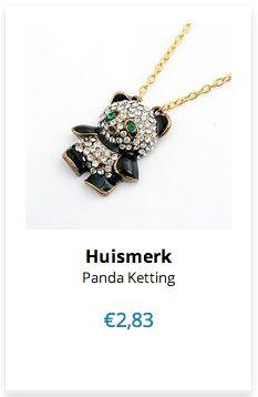 Panda Ketting www.ovstore.nl/nl/panda-ketting.html