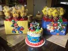Super Mario Brothers birthday party theme 🎉⭐️🎮