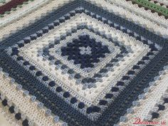 Wow! I don't usually get excited about Granny Squares, but this might change my mind.