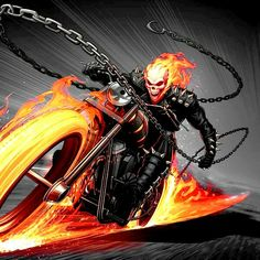 Ghost Rider Johnny Blaze, Ghost Rider Marvel, Marvel Art, Marvel Heroes, Kamen Rider Henshin, Ghost Rider Pictures, Avengers, Spirit Of Vengeance, Thor 2