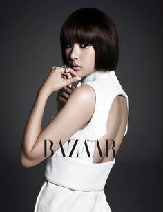 Jo Yoon Hee Harper's Bazaar Korea Magazine December 2013