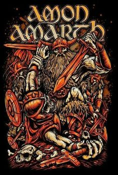 Amon Amarth artwork - Heavy Metal Art