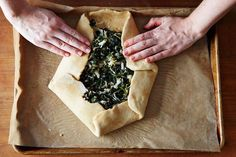 Savory Galette Delicious for EASTER
