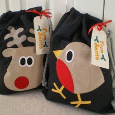 Looking for some Christmas ideas? Check out these fab Christmas sack-stockings from MinXtures! #CRAFTfest