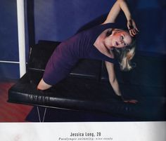 Be-YOU-tiful - Paralympic Jessica Long photographed in Elle; Long is a double amputee and holds nine paralympic gold medals. #heroism