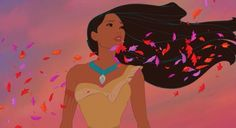 Disney 30 Day Challenge! Day 10: Best Hair- Pocahontas, duh!! It's never NOT flowing.