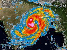 2013-10-12 Phailin 2013: Storm-Centered Satellite Image | Weather Underground