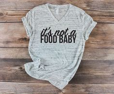 Pregnancy Announcement Shirt / Pregnancy Announcement to Husband / Pregnant Shirt / Maternity Shirt / Announcement Idea / Food Baby Shirt / Preggers / Pregnancy Announcement Ideas