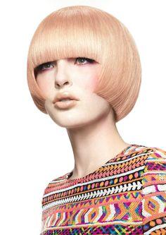 Large image of Medium Blonde straight hairstyles provided by Kobi Bokshish. Picture Number 23844