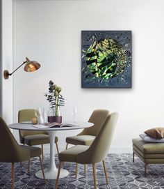 Claudia Gurwitz: Ingress: fine art | StateoftheART Creator Studio, Colored Chalk, South African Art, Living Room Green, Office Art, Paint By Number, Old Art, Something Beautiful, Community Art