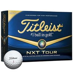 Golf Balls Ideas | Titleist 2014 NXT Tour White Golf Balls 1 DZ by Titleist * Be sure to check out this awesome product. Note:It is Affiliate Link to Amazon.