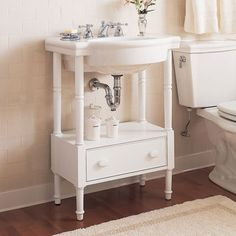 American Standard Retrospect Washstand With Bathroom Sink Set