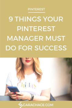 9 Things Your Social Media Manager Should Be Doing — Cara Chace Marketing Plan, Business Marketing, Content Marketing, Social Media Marketing, Marketing Strategies, Business Tips, Digital Marketing, Business Video, Mobile Marketing