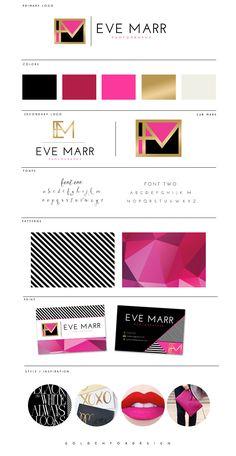 Gorgeous branding board. Branding love.