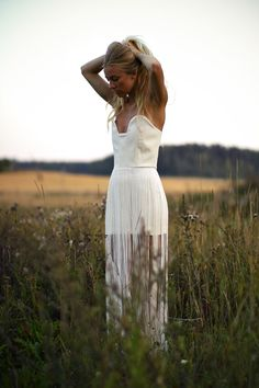 love this fringed dress