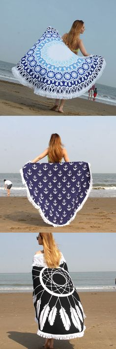US$18.72 150x150cm Beach Towel Moltres Yoga Mat Blanket De Plage Toalla Playa Swimming Shawl