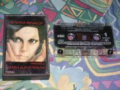 cassette susana rinaldi 1984 canta a maria elena walsh