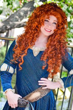 Princess Merida from Disney Pixar's Brave Merida Disney, New Disney Princesses, Brave Merida, Beautiful Red Hair, Beautiful Redhead, Stunning Women, Beautiful Models, Golden Red Hair, Redhead Art