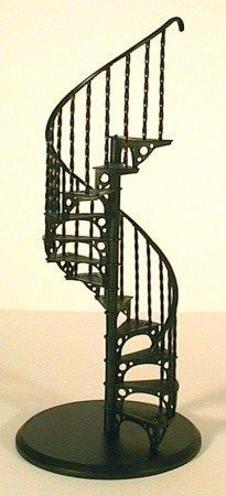 Best 1 12Th Scale Miniature Spiral Staircase You Can Buy Kit On 640 x 480