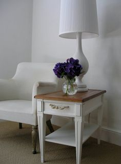 Side Table with Wooden Top by PlaceMichel on Etsy - StyleSays