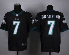272997672a0 Nike Eagles #7 Sam Bradford Black Alternate Men's Stitched NFL New Elite  Jersey
