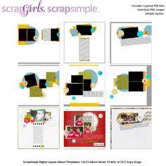 Digital Scrapbooking Supplies #digital #scrapbook