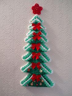 Sarah's advent tree by bunny mummy, via Flickr