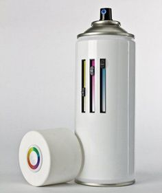 All in one spray can