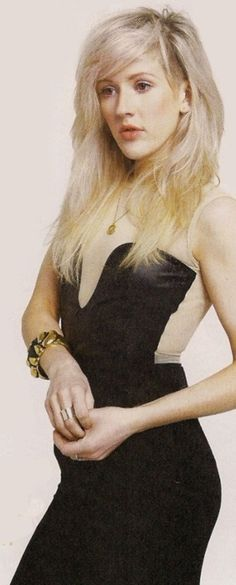 Ellie Goulding. Love her hair, her voice, her style. Total girl crush.