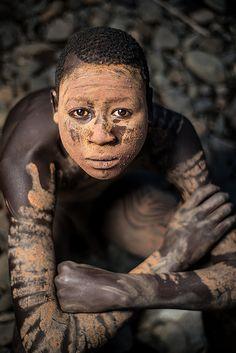 Suri Tribe body paint, Ethiopia