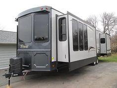 Heartland Resort 40FE 5th Wheel American Caravan RV Static in Other Vehicles   eBay