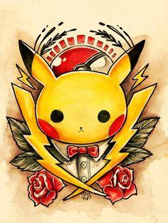 Pokemon Tattoo Designs - Created by Jazmin Castillo