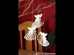 Quilling Angel - YouTube
