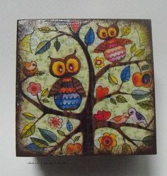 Decoupage On Canvas Ideas | next painting idea | Beauty and Inspiration