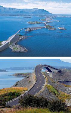 The Atlantic Road, Norway.