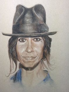 Linda Perry - July 2014 - Pastels