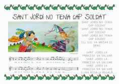 Cançó de Sant Jordi English Course, Saint George, Fashion Couple, Musical, Activities For Kids, Singing, Saints, Blog, Piano