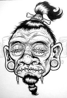 © sean hemak my art - sketches in 2019 tatuaje, idei tatuaje Tattoo Design Drawings, Tattoo Sketches, Cool Drawings, Drawing Sketches, Pencil Drawings, Tattoo Designs, Easy Graffiti Drawings, Tattoo Ideas, Alien Drawings